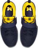 Michigan Wolverines Nike AIR Jordan Trainer 2 Flyknit Training Shoes - Fan Shop TODAY