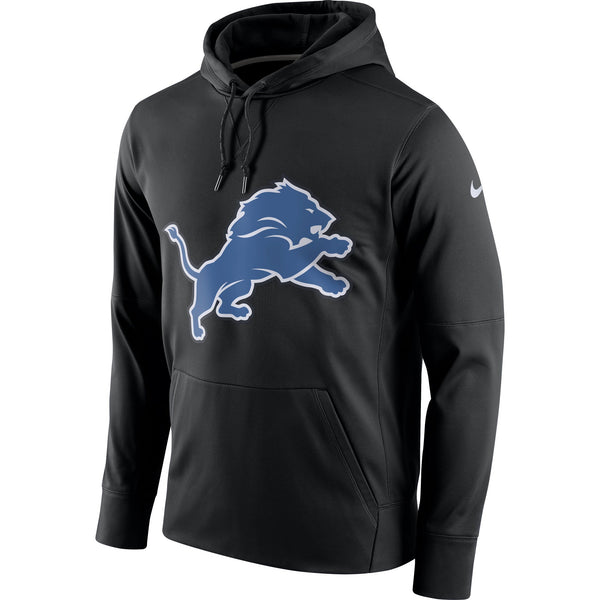 Detroit Lions Nike Circuit Logo Essential Performance Pullover Hoodie - Fan Shop TODAY