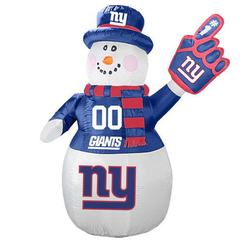 New York Giants NFL Inflatable Snowman 7' - Fan Shop TODAY