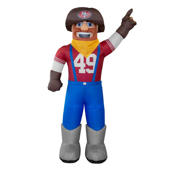 San Francisco 49ers NFL Inflatable Mascot 7' - Fan Shop TODAY