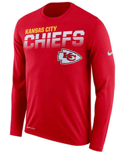 Kansas City Chiefs Nike Sideline Line of Scrimmage Long Sleeve T-Shirt - Fan Shop TODAY