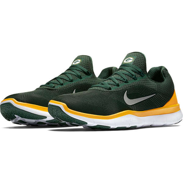 Green Bay Packers Nike NFL Free Trainer V7 Week Zero Shoes - Fan Shop TODAY