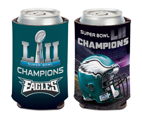 Philadelphia Eagles Super Bowl LII Champions 12oz. Can Cooler - Fan Shop TODAY