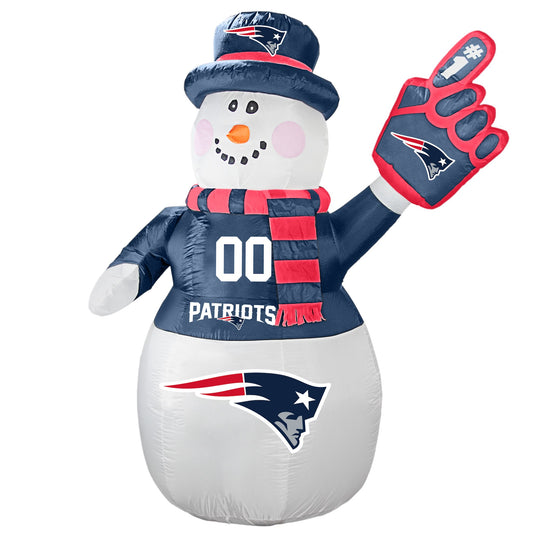 New England Patriots NFL Inflatable Snowman 7' - Fan Shop TODAY