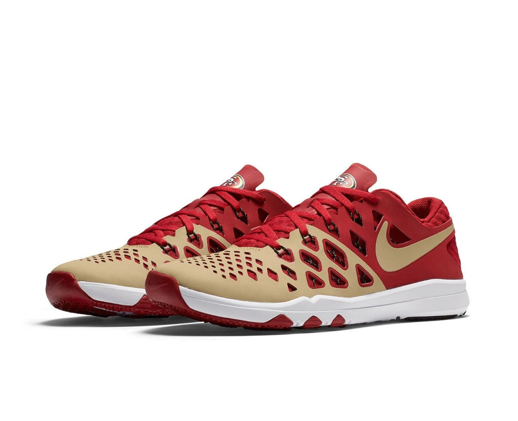 f50979dd5f4 49ers Shoes - 49ers Nike Kickoff Collection Speed 4 Training Sho