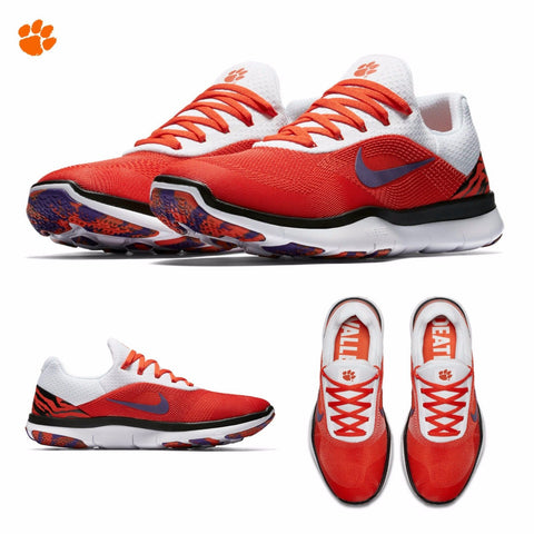 db1bb393e868 ... spain clemson tigers nike free trainer v7 week zero shoes fan shop today  92ed9 4c784