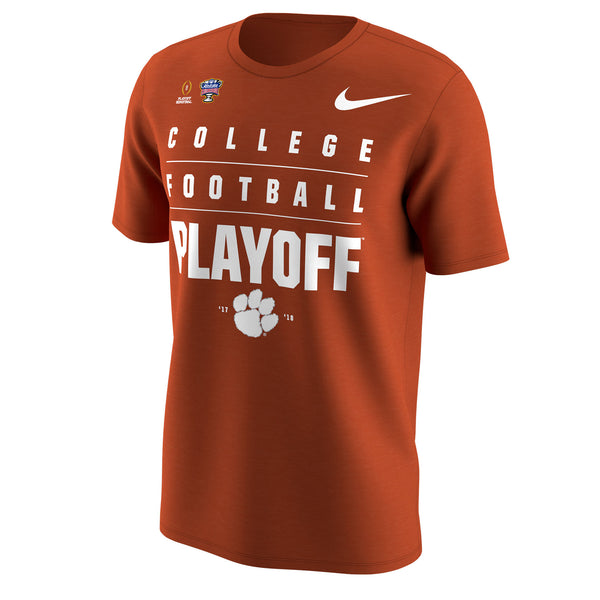 Clemson Tigers Nike College Football Playoff 2018 Sugar Bowl Bound T-Shirt - Fan Shop TODAY