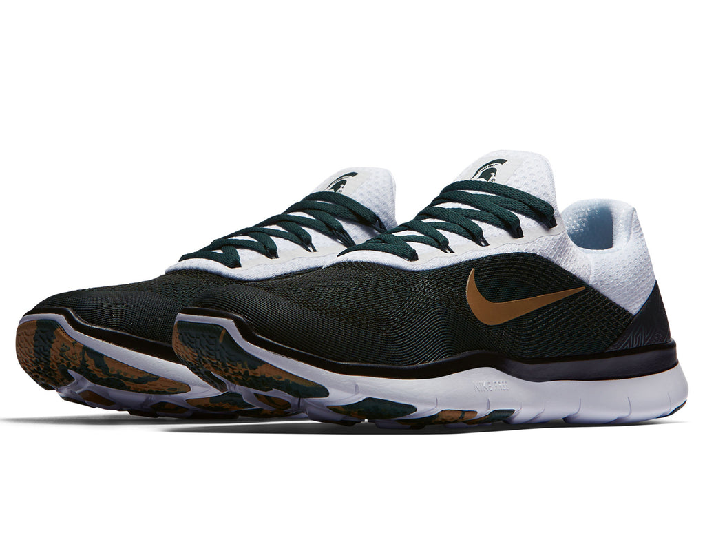 a11b0a7ce29ea Michigan State Spartans Nike Free Trainer V7 Week Zero Shoes