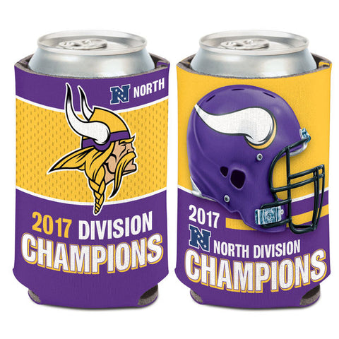 Minnesota Vikings 2017 NFC Division Champions 12oz. Can Cooler - Fan Shop TODAY