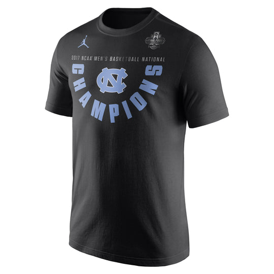 North Carolina Tar Heels NCAA 2017 Jordan Nike Basketball National Champions Locker Room T-Shirt - Fan Shop TODAY