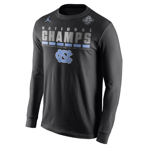 North Carolina Tar Heels 2017 NCAA Men's Basketball National Champions Celebration T-Shirt - Fan Shop TODAY