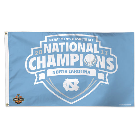 UNC Tar Heels 2017 NCAA Men's Basketball National Champions 3' x 5' Flag - Fan Shop TODAY