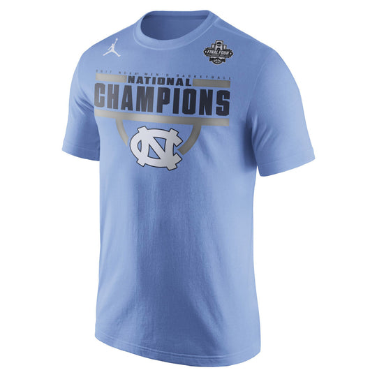 North Carolina Tar Heels NCAA Men's Nike 2017 Men's National Champs Celebration T-Shirt - Fan Shop TODAY