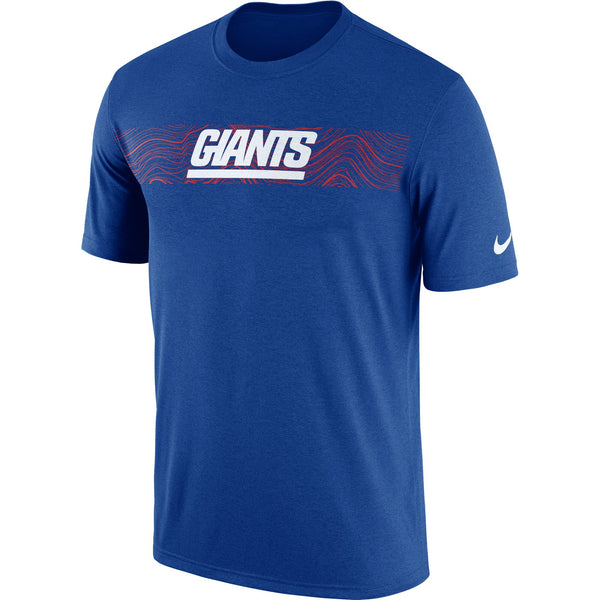New York Giants Nike Sideline Seismic Performance T-Shirt - Fan Shop TODAY