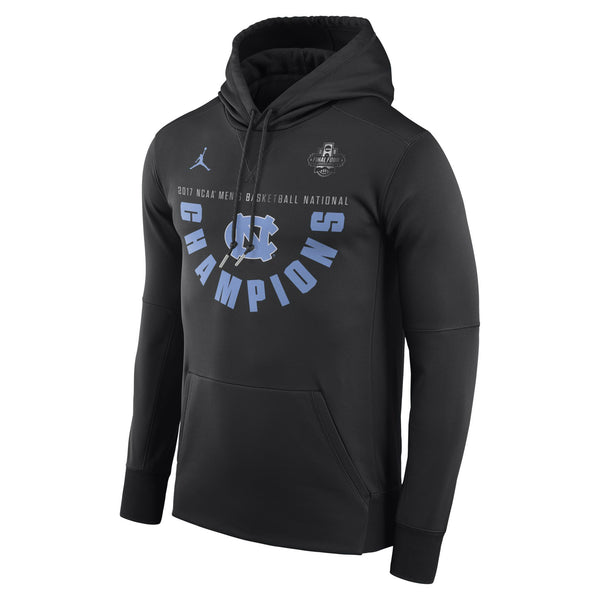 North Carolina Tar Heels 2017 National Champions Locker Room Pullover Hoodie Jordan - Fan Shop TODAY