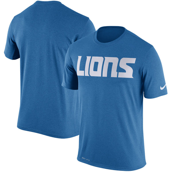 Detroit Lions NFL Nike Logo Legend Wordmark Essential T-Shirt - Fan Shop TODAY