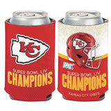 Kansas City Chiefs Super Bowl LIV Champions Can Cooler - Fan Shop TODAY