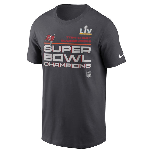 Tampa Bay Buccaneers Nike Super Bowl LV Champions Trophy Collection T-shirt - Fan Shop TODAY