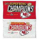 Kansas City Chiefs Super Bowl LIV Champions On-Field Locker Room Towel - Fan Shop TODAY