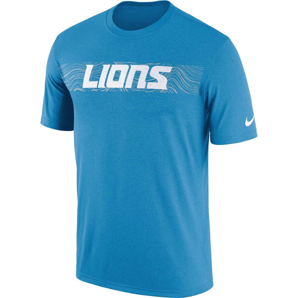 Detroit Lions Nike NFL Onfield Sideline Seismic T-Shirt - Fan Shop TODAY