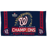 Washington Nationals World Series Champions Locker Room Towel - Fan Shop TODAY