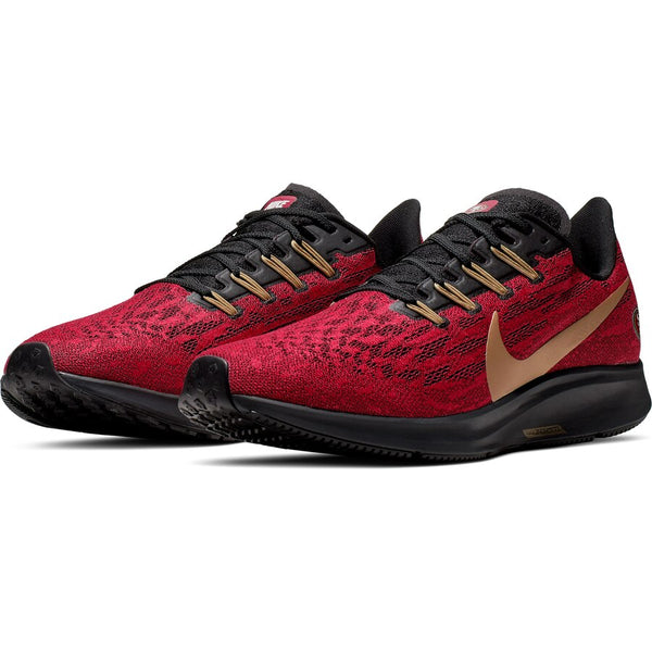 San Francisco 49ers Nike Air Zoom Pegasus 36 Running Shoes - Fan Shop TODAY
