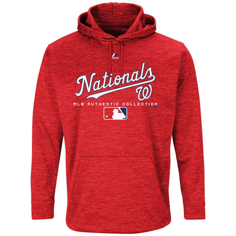 Washington Nationals Majestic Team Drive Pullover Hoodie - Fan Shop TODAY
