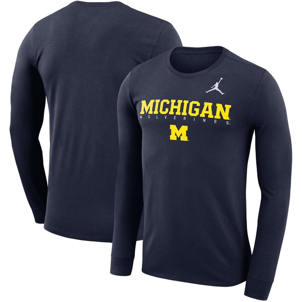 Michigan Wolverines Jordan College Dri-FIT Performance T-Shirt - Fan Shop TODAY