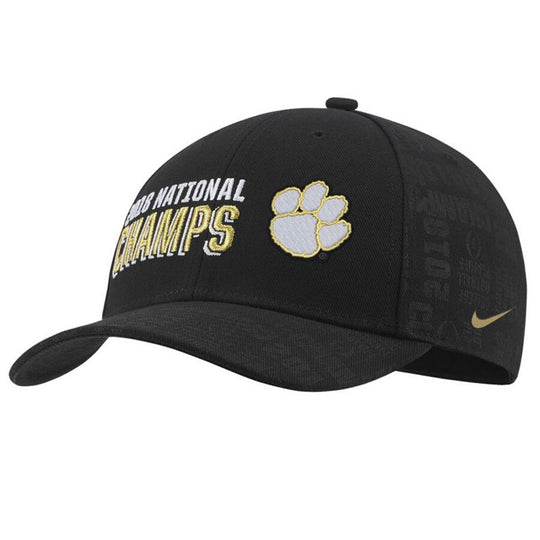 Clemson Tigers Nike Men's 2018 National Champions Locker Room Hat - Fan Shop TODAY