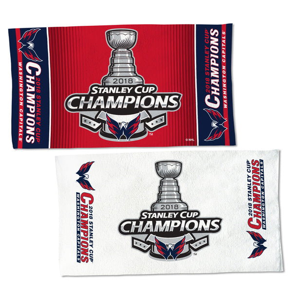 Washington Capitals 2018 NHL Stanley CUP Champions Locker Room On-Ice Celebration Towel - Fan Shop TODAY