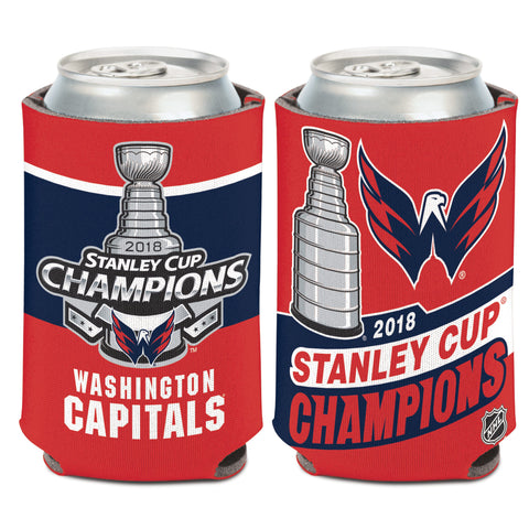 Washington Capitals 2018 NHL Stanley CUP Champions 12oz. Can Cooler - Fan Shop TODAY