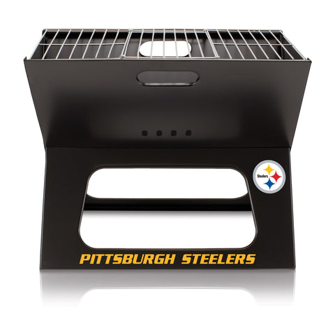 Pittsburgh Steelers X-Grill Portable BBQ Grill - Fan Shop TODAY