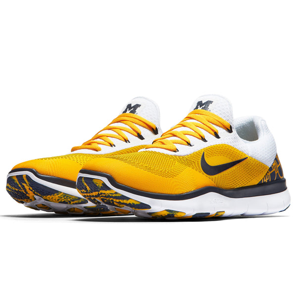 Wolverines Nike Free Trainer V7 Week Zero Shoes - Fan Shop TODAY