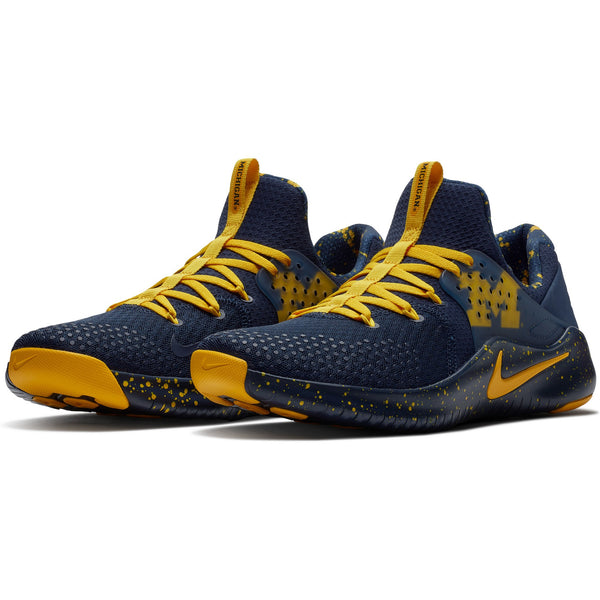 Michigan Wolverines Nike Free TR V8 Shoes - Fan Shop TODAY
