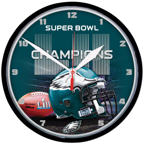 Philadelphia Eagles Super Bowl Champions Clock - Fan Shop TODAY