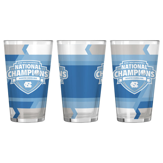 UNC Tar Heels 2017 NCAA Men's Basketball National Champions 16oz. Pint Glass - Fan Shop TODAY