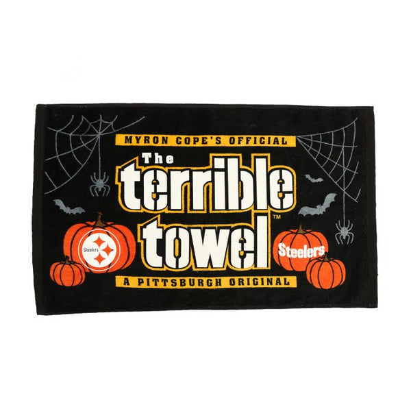 Pittsburgh Steelers MYRON COPE'S Glow In The Dark Halloween Terrible Towel - Fan Shop TODAY