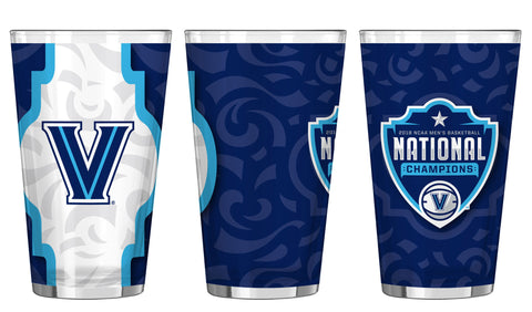 Villanova Wildcats 2018 NCAA Men's Basketball National Champions 16oz. Sublimated Pint Glass - Fan Shop TODAY