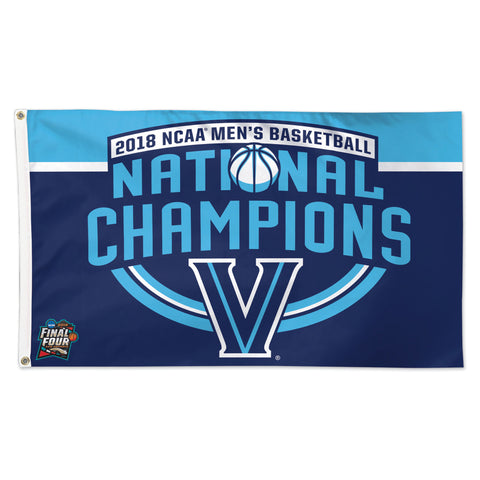 Villanova Wildcats 2018 NCAA Men's Basketball National Champions 3' x 5' Flag - Fan Shop TODAY