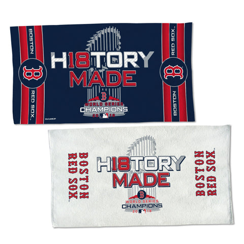 Boston Red Sox 2018 World Series Champions Locker Room Towel - Fan Shop TODAY