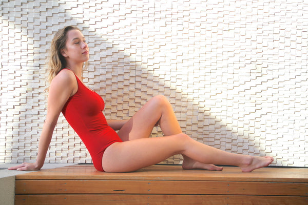 Elke One Piece Red - swimm