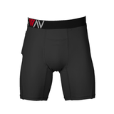 Performance Hybrid | Compression Short | Black