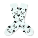BARX SOX White Frenchie Socks - Main Image