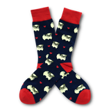 BARX SOX Navy Pug Socks - Main Image