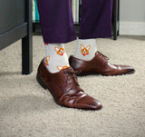 BARX SOX Grey Corgi Socks - Business Professional
