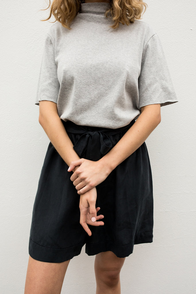 A.BCH Luxe Tencel Shorts