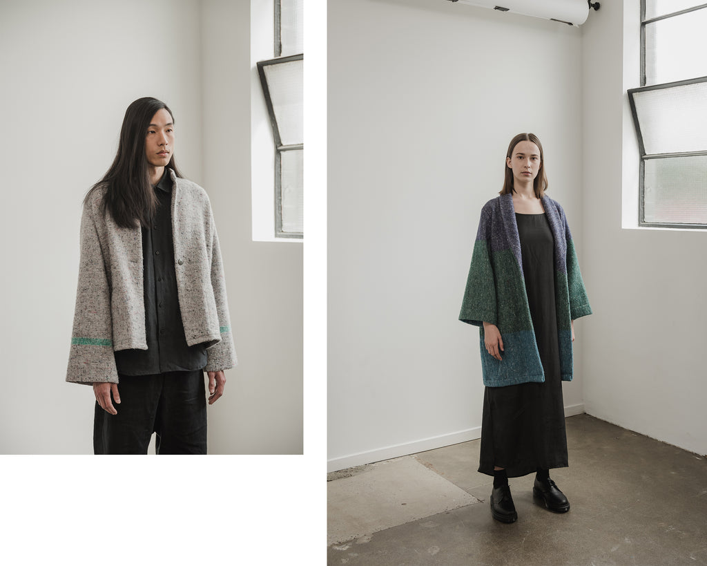 A.BCH Recycled Wool Coats