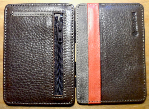 Magic wallet Brown / Red