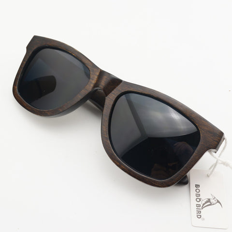 OEM Vintage Handmade Ebony Wood Sunglasses