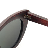 G007-1  Luxury Red Sandalwood Sunglasses